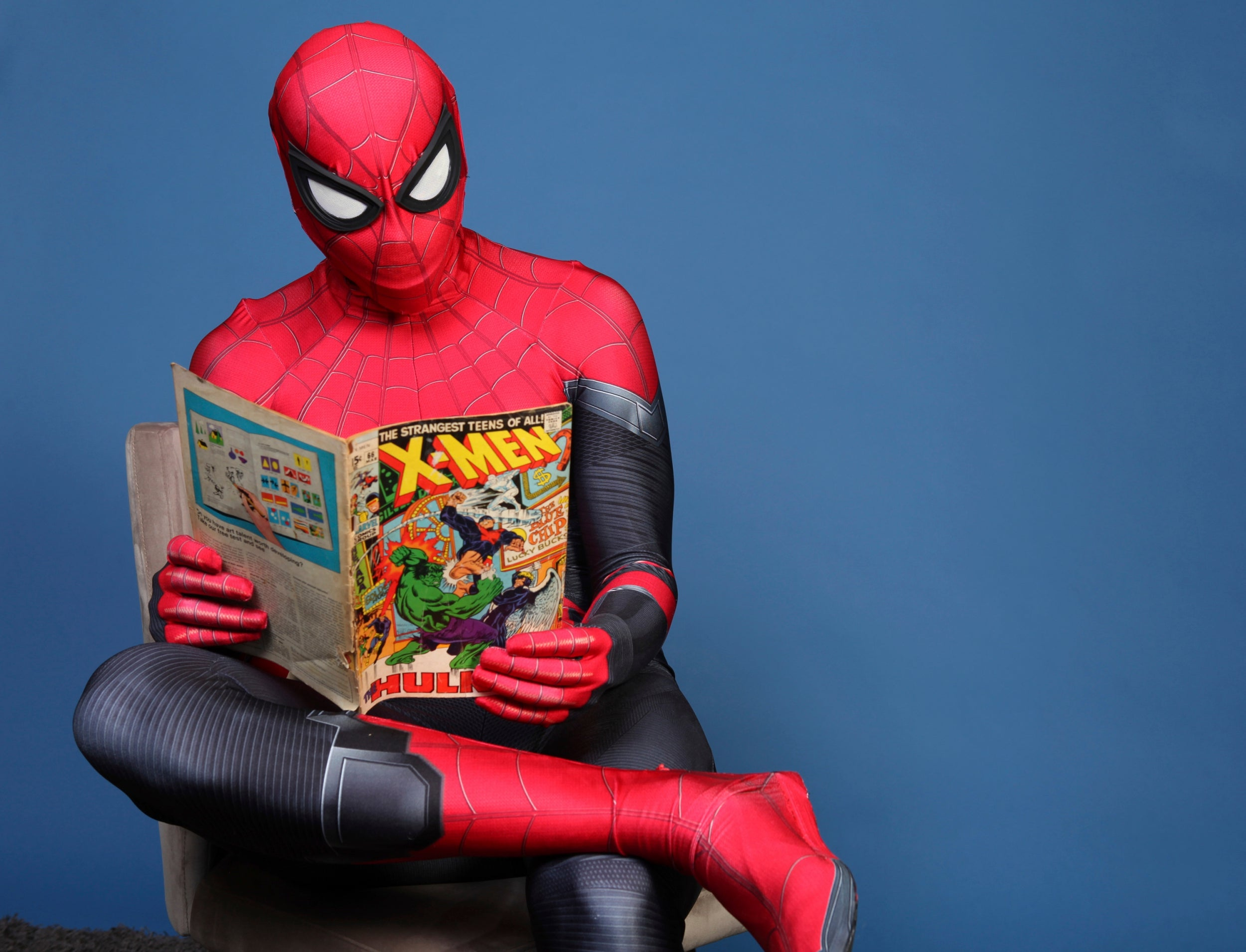 Mea Culpa: An initiation ceremony for Spider-Man fans