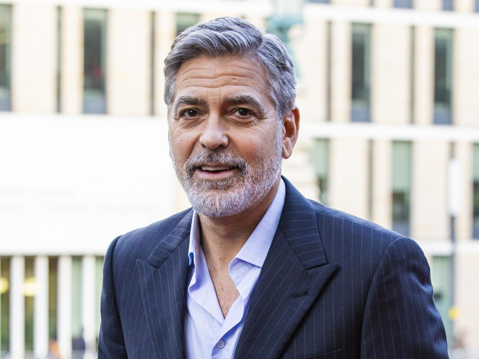 George Clooney says racism is America's pandemic: 'It infects all of us'