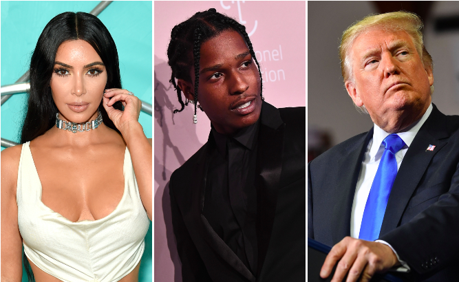 Kim Kardashian thanks Trump for his 'efforts to free A$AP Rocky'