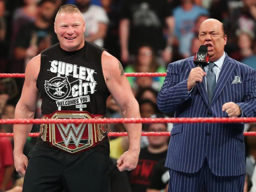 WWE: Seth Rollins praises Brock Lesnar just days after