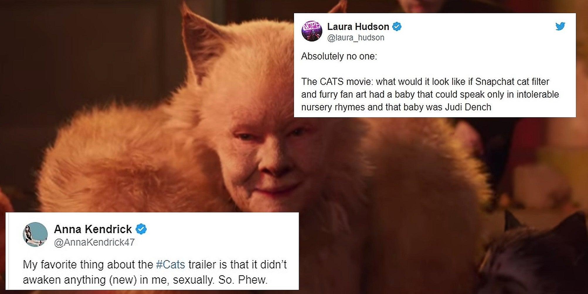 Cats trailer Internet reacts to musical with memes and