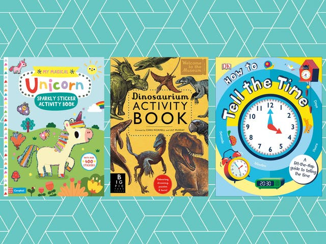 It's important for kids to have off-screen entertainment and these books will keep them occupied for hours