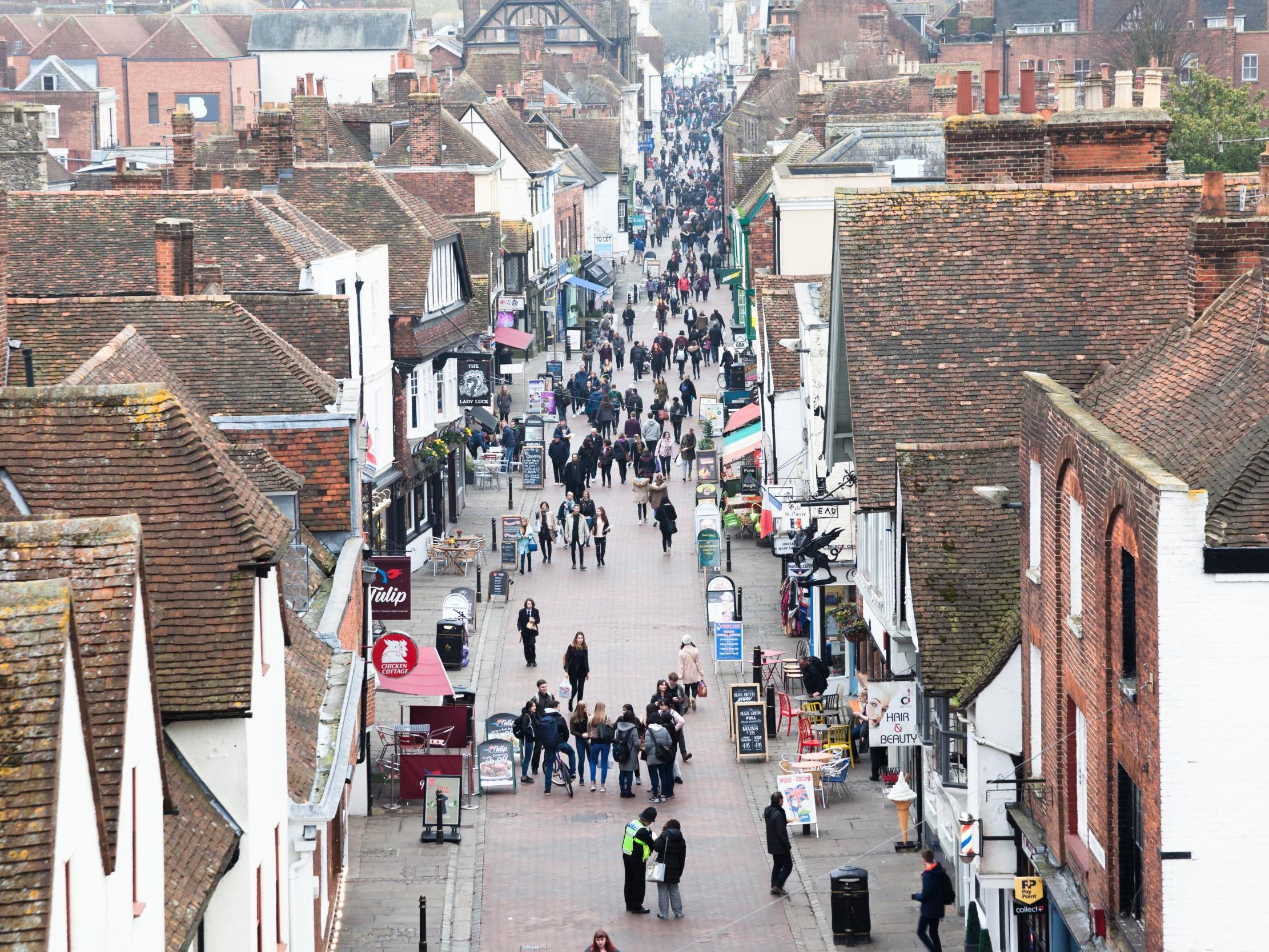 Which shops the UK wants on the high street
