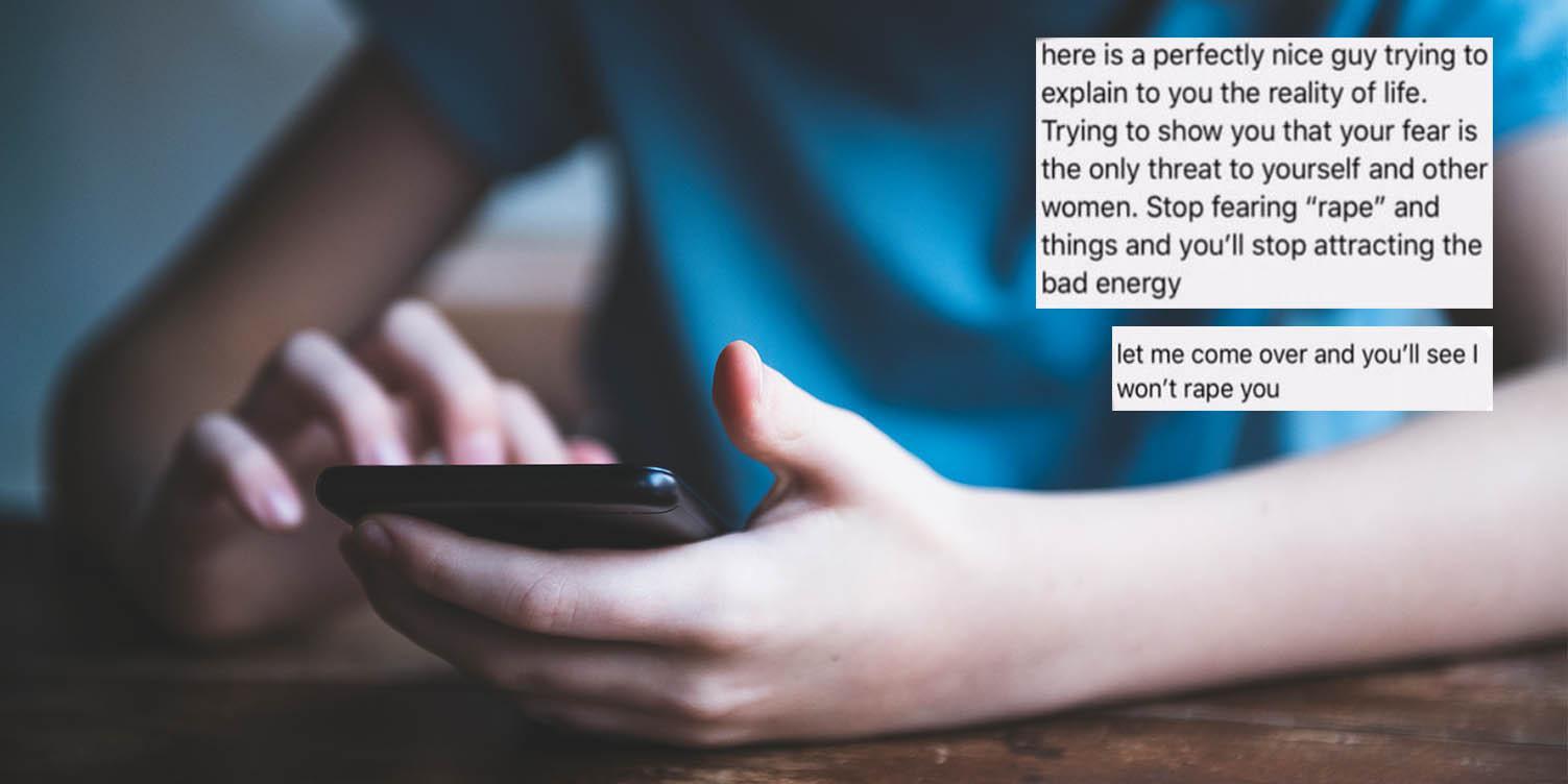 Woman shares Reddit thread of 'nice guy's' disturbing