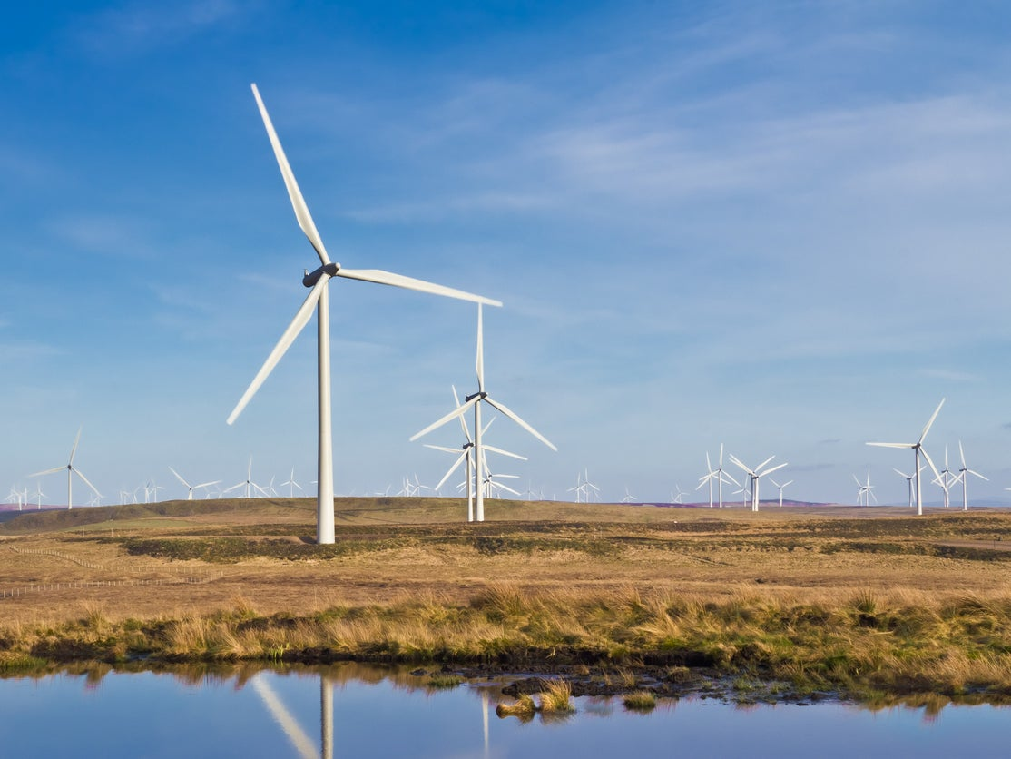 Scotland generating enough wind energy to power two Scotlands