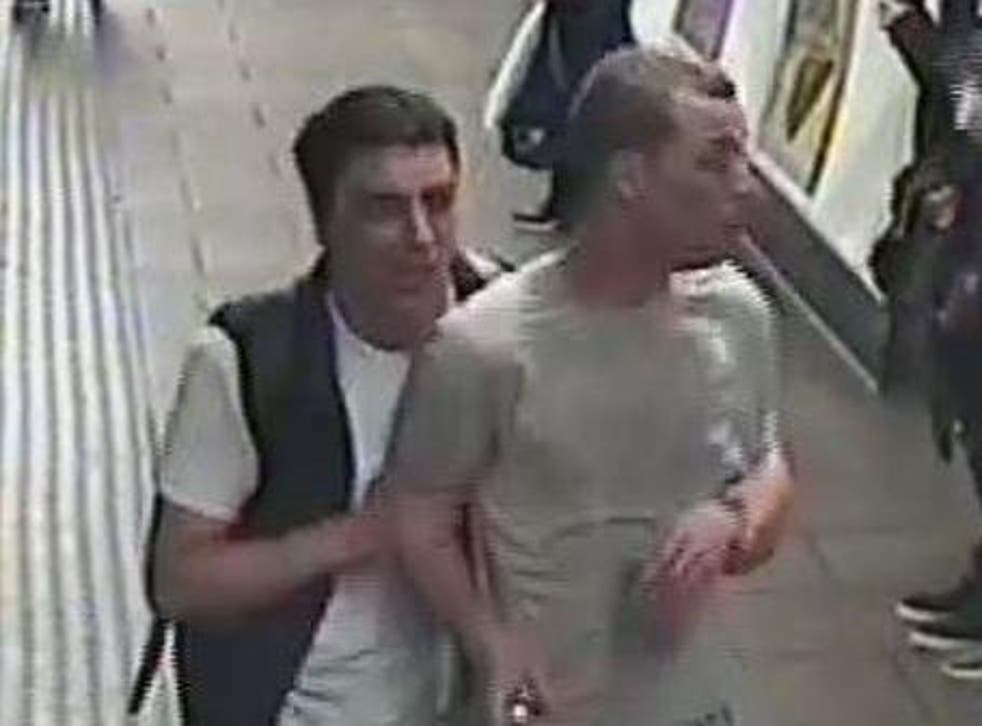 Anyone who witnessed the incident, or who knows the identity of the men, is asked to contact BTP by texting 61016 or by calling 0800 40 50 40 quoting reference 171 of 20/07/19.