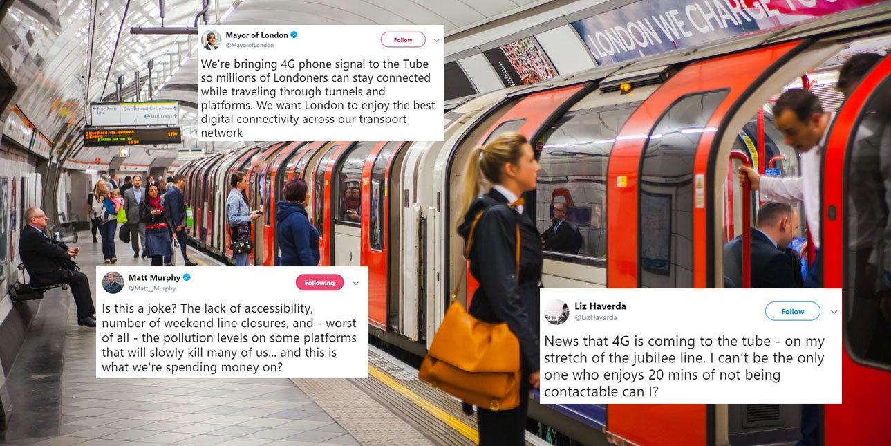 London Underground 4G: Sadiq Khan Tube announcement sparks