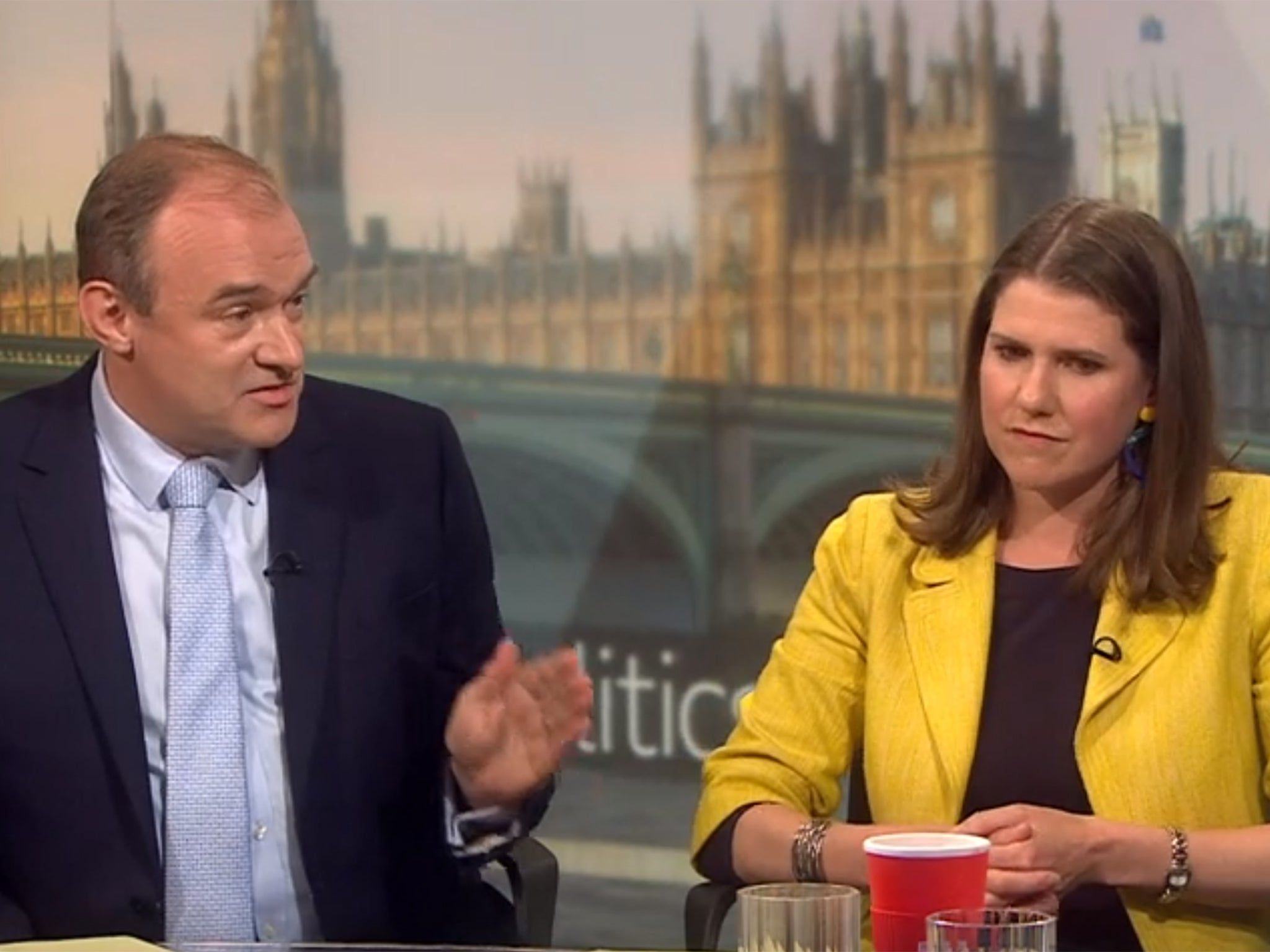 Lib Dem leadership race on knife-edge as Ed Davey makes ground on Jo…