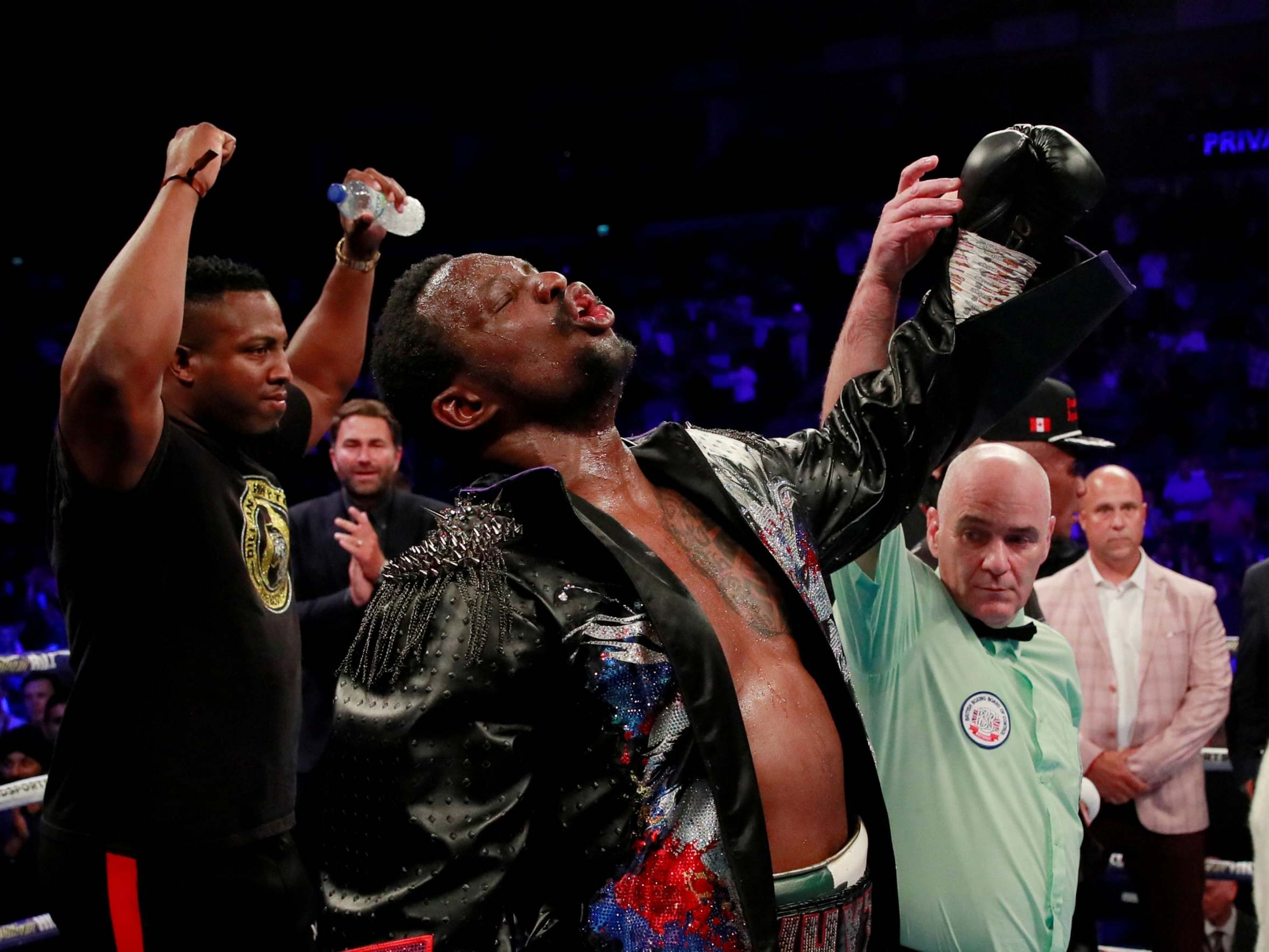 Dillian Whyte and Manny Pacquiao, boxing's great underdog and living miracle, deliver a night to remember