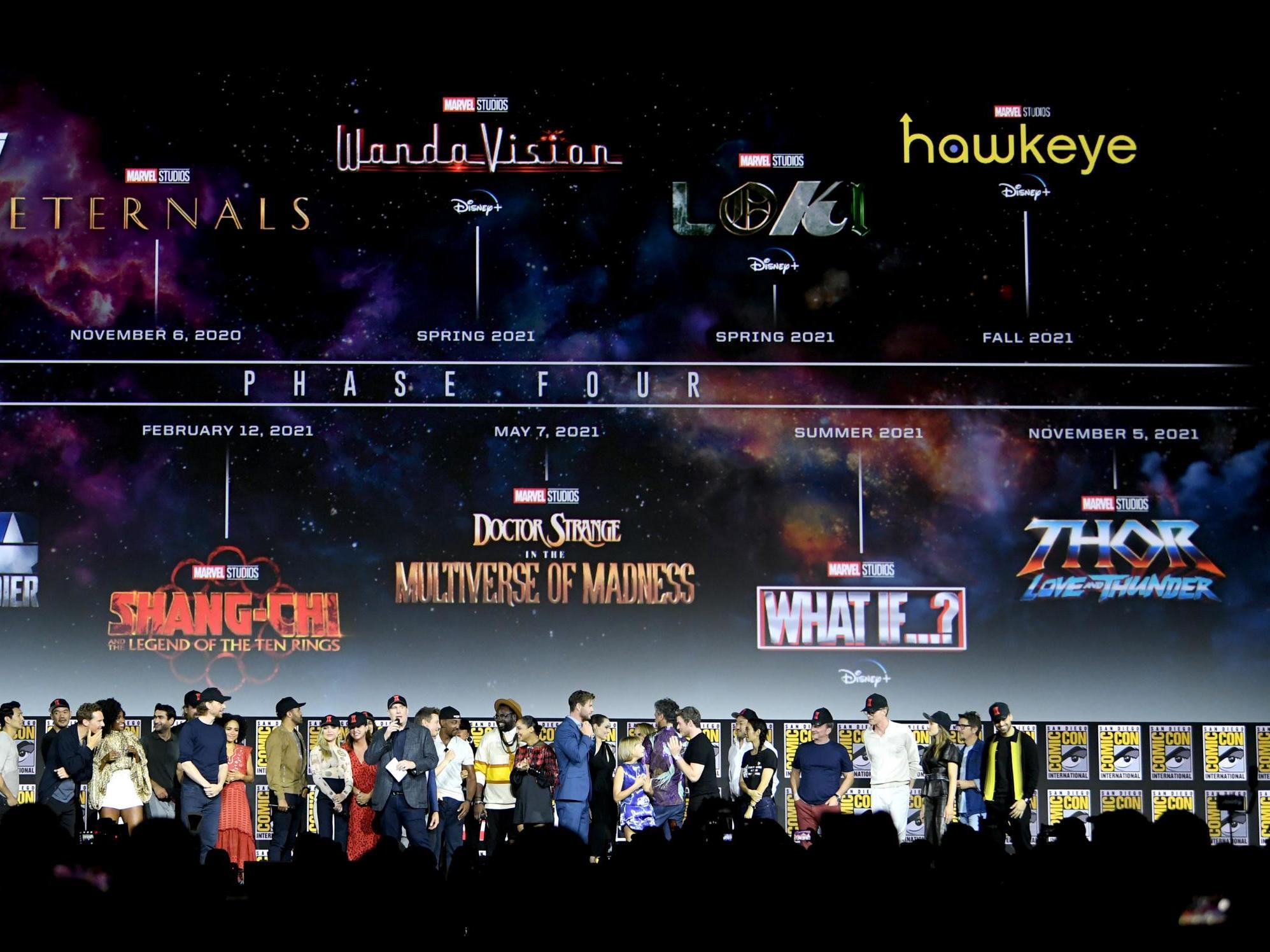 Phase 4 Marvel