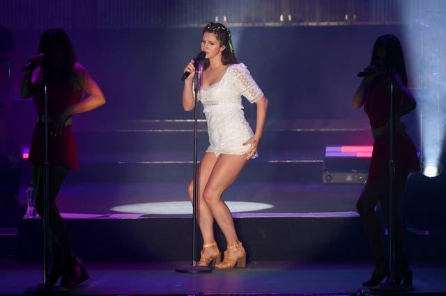 Lana Del Rey performs at Latitude Festival, 21 July 2019