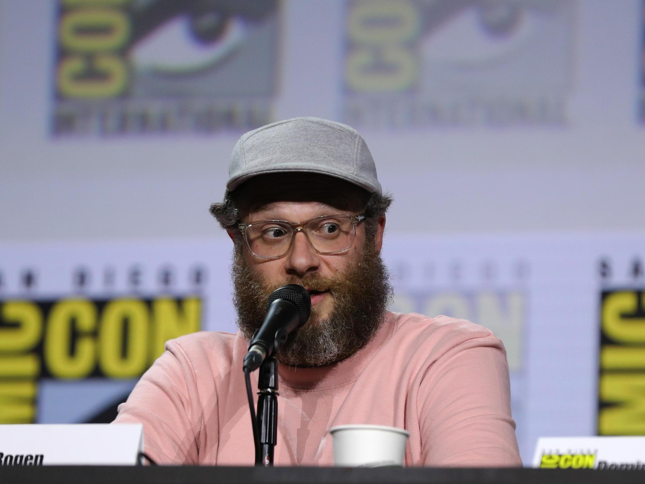 Seth Rogen makes digs at Game of Thrones season 8 finale during Preacher panel