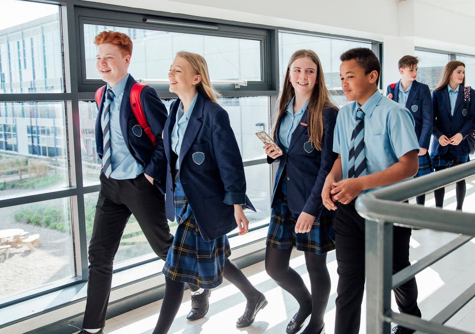 School bans skirts as part of new gender-neutral uniform