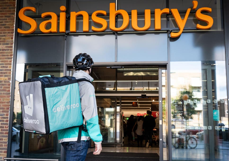 Sainburys And Deliveroo Team Up To Offer Hot Takeaways