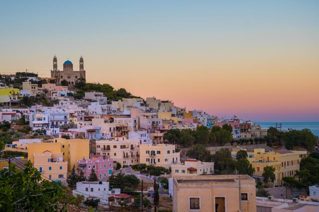 Escape the crowds on Syros