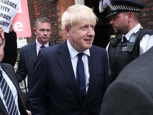 Mr Johnson is likely to issue an appeal for unity in a Conservative Party which has become mired in vicious infighting over Europe under Ms May's leadership