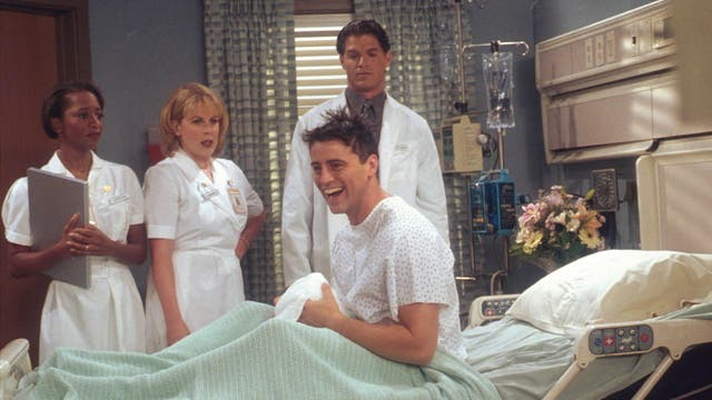 "Sure, over the years, Joey provided the show with some of its best-known one-liners (see: ""Joey doesn't share food!"" and ""How you doin'?""). He was also a recurrent source of situational comedy (see: Joey locking himself into his media unit to prove a point, only for all his and Chandler's belongings to get robbed). Still, it's hard to compare his goofiness to Chandler's dryness or Phoebe's knack for the absurd."