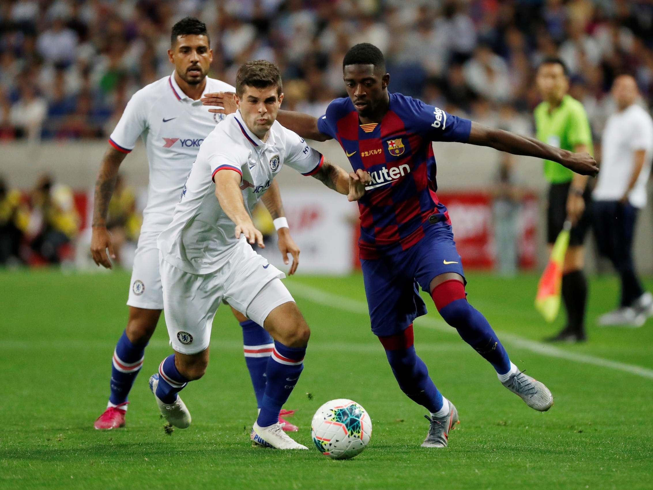 Barcelona Vs Chelsea Live Stream: How To Watch Pre-season
