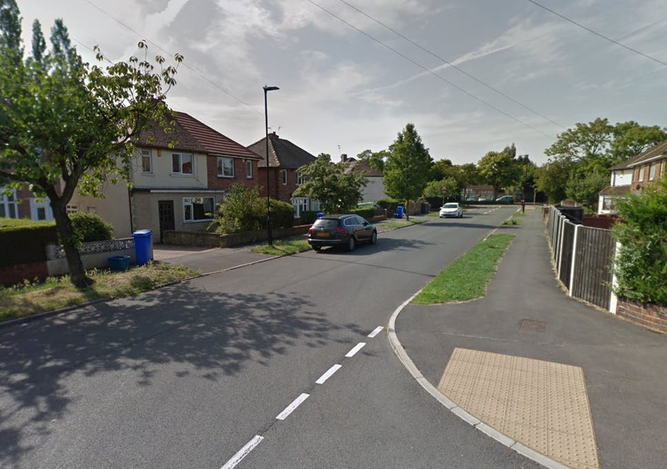 Caravan crashes into woman walking down street after