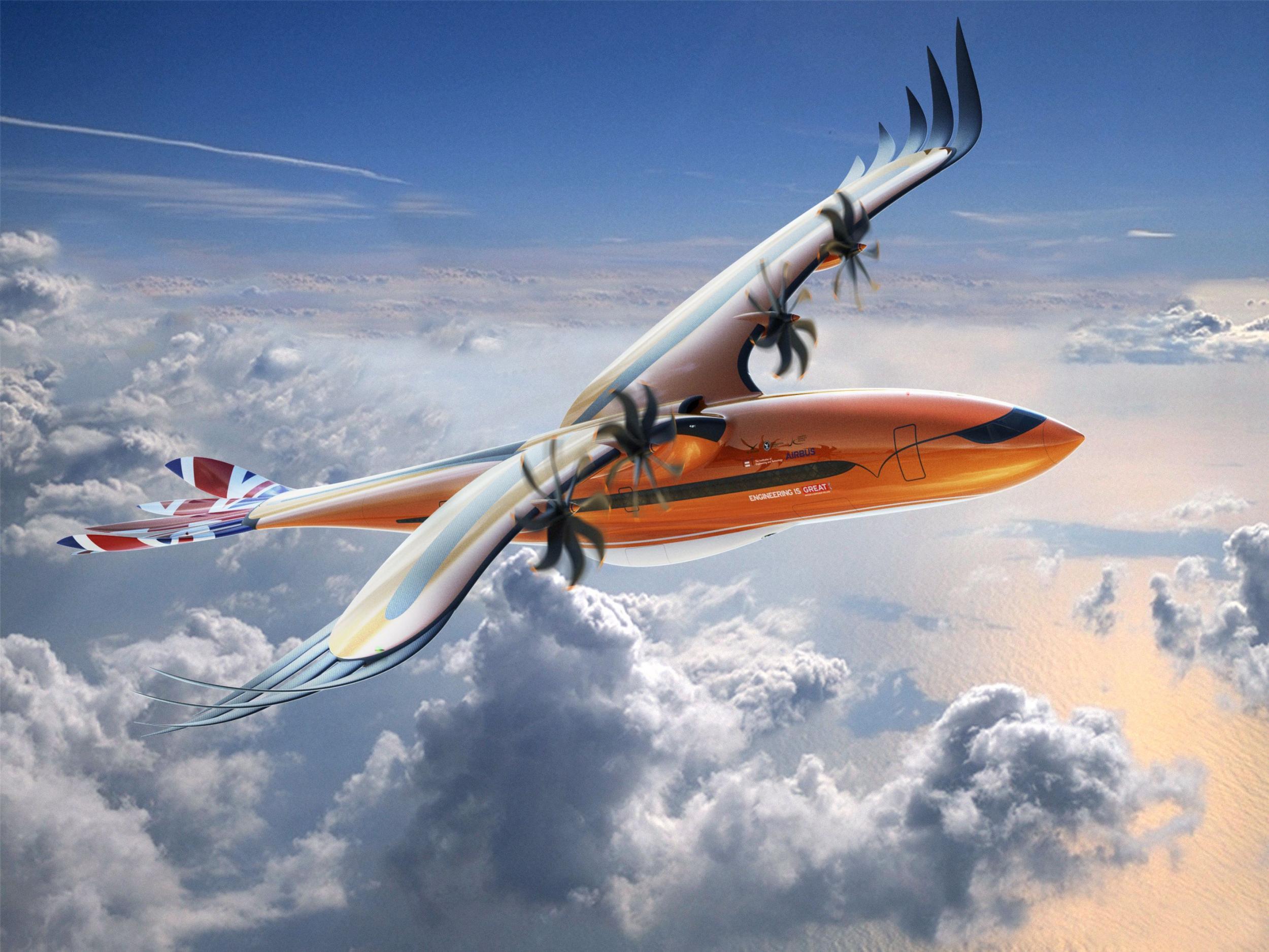 Airbus unveils new plane design that looks like bird of prey