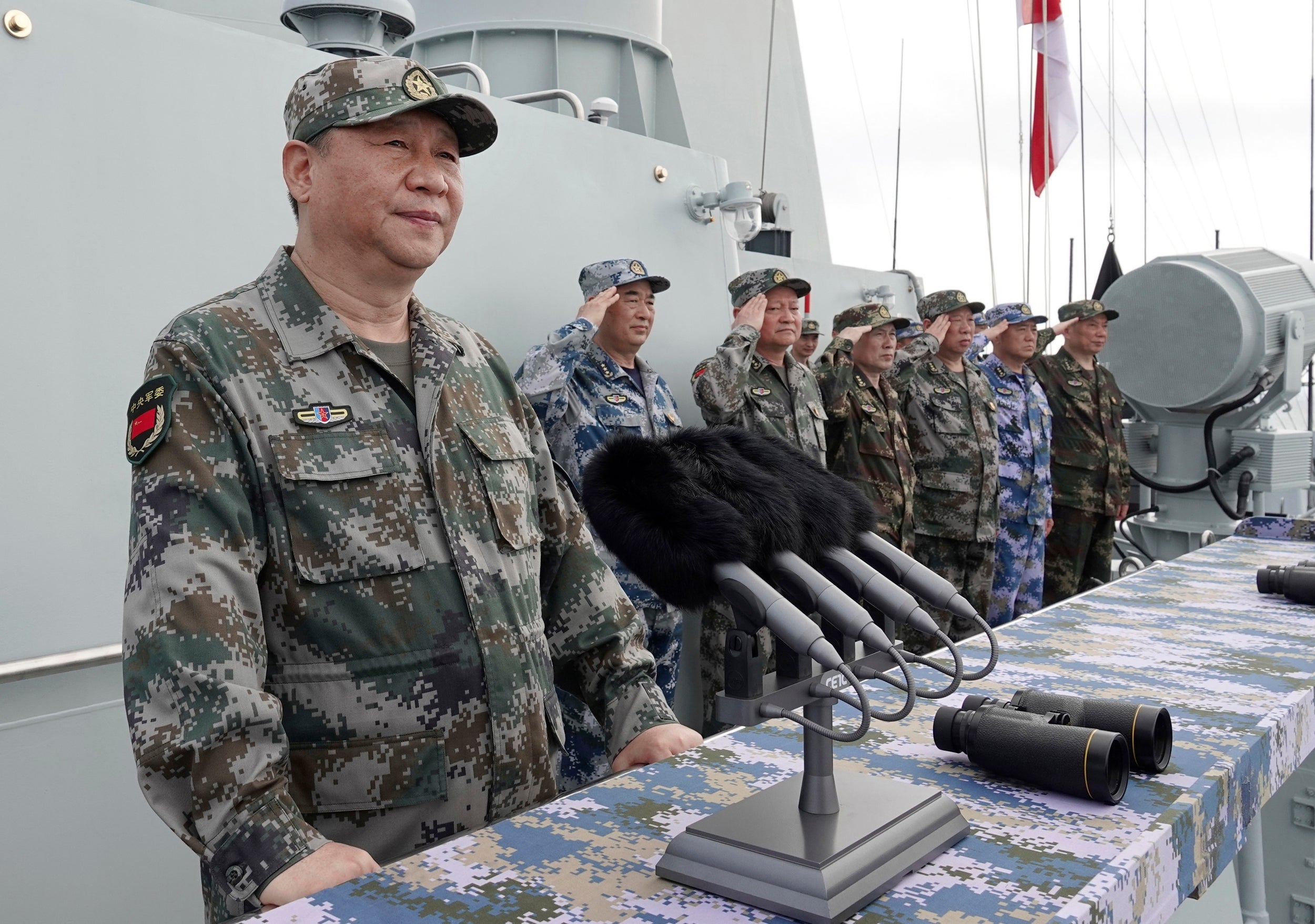 China 'ready to go to war' if Taiwan tries to gain independence, major defence ministry report says