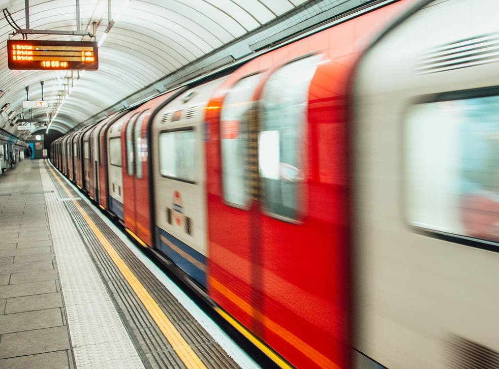 The first underground railway opened in 1870