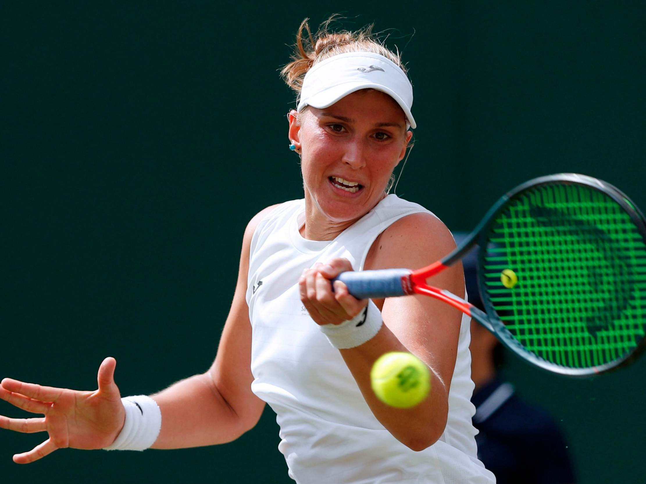 Wimbledon qualifier Beatriz Haddad Maia suspended after failing drugs test