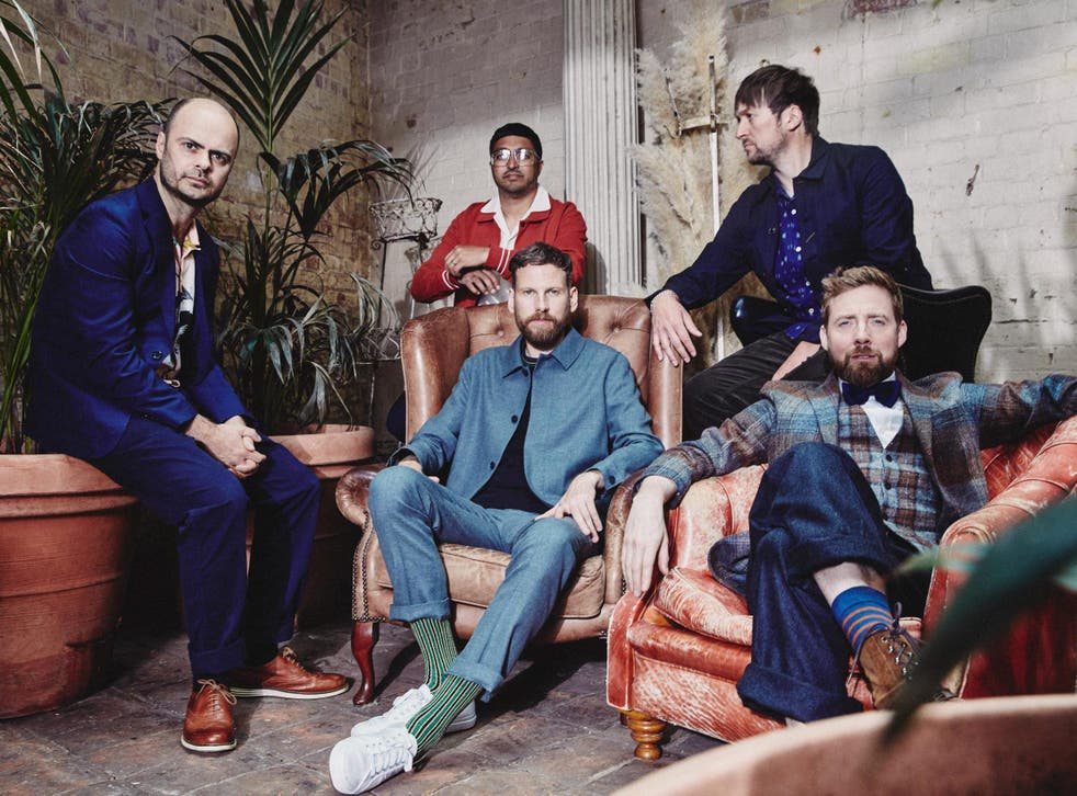 Kaiser Chiefs, who have returned with their seventh album Duck