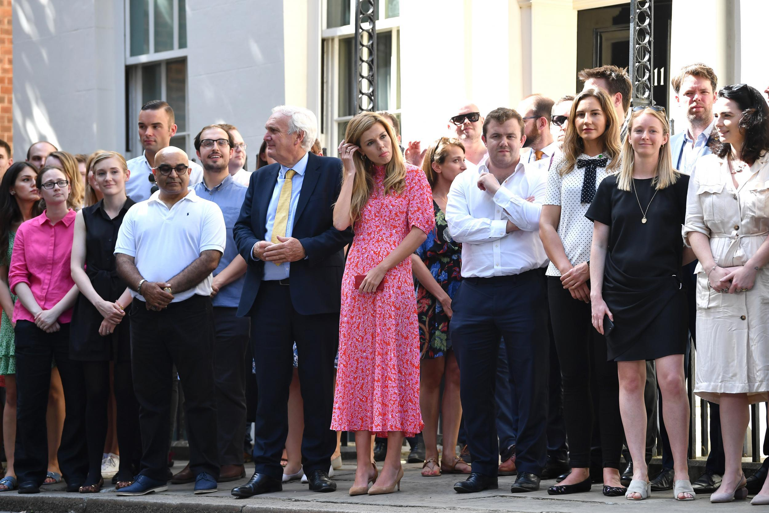 Carrie Symonds Dress Worn By Boris Johnson S Girlfriend Sells Out