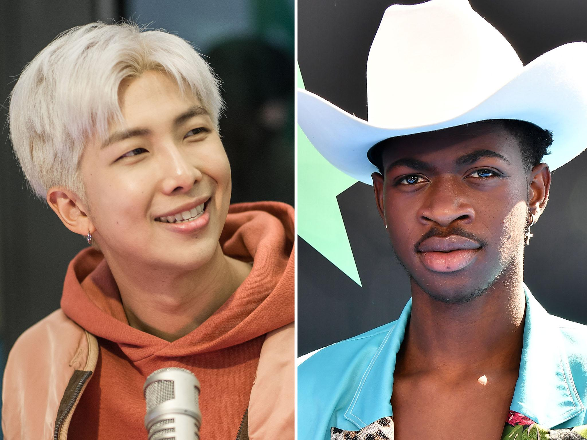 Old Town Road' rapper Lil Nas X collaborates with BTS star
