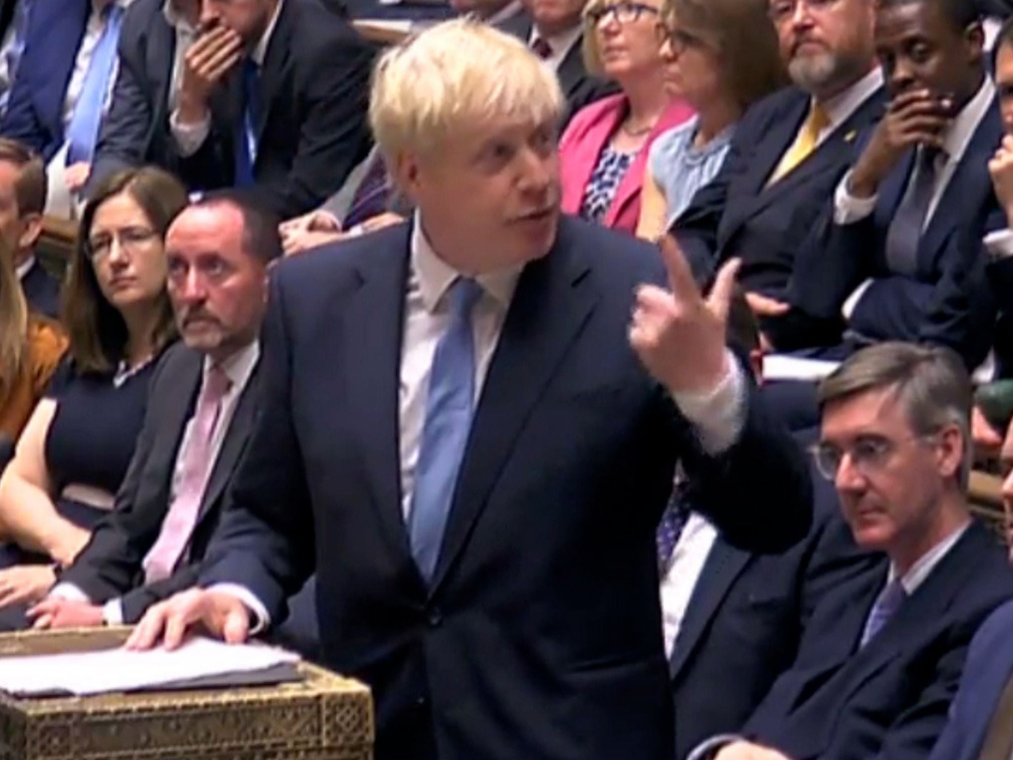 Brexit: Boris Johnson rips up Theresa May's immigration plan and refuses to set limits on new arrivals