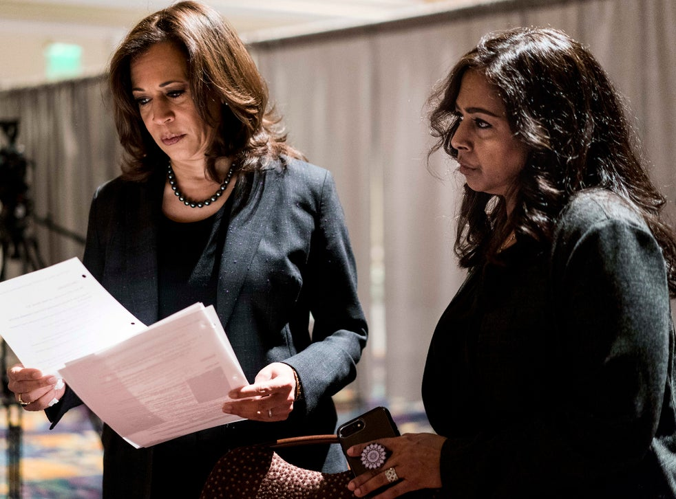 Kamala Harris Presidential Hopeful And Big Sister But Who Is The Woman Behind The Politics The Independent The Independent