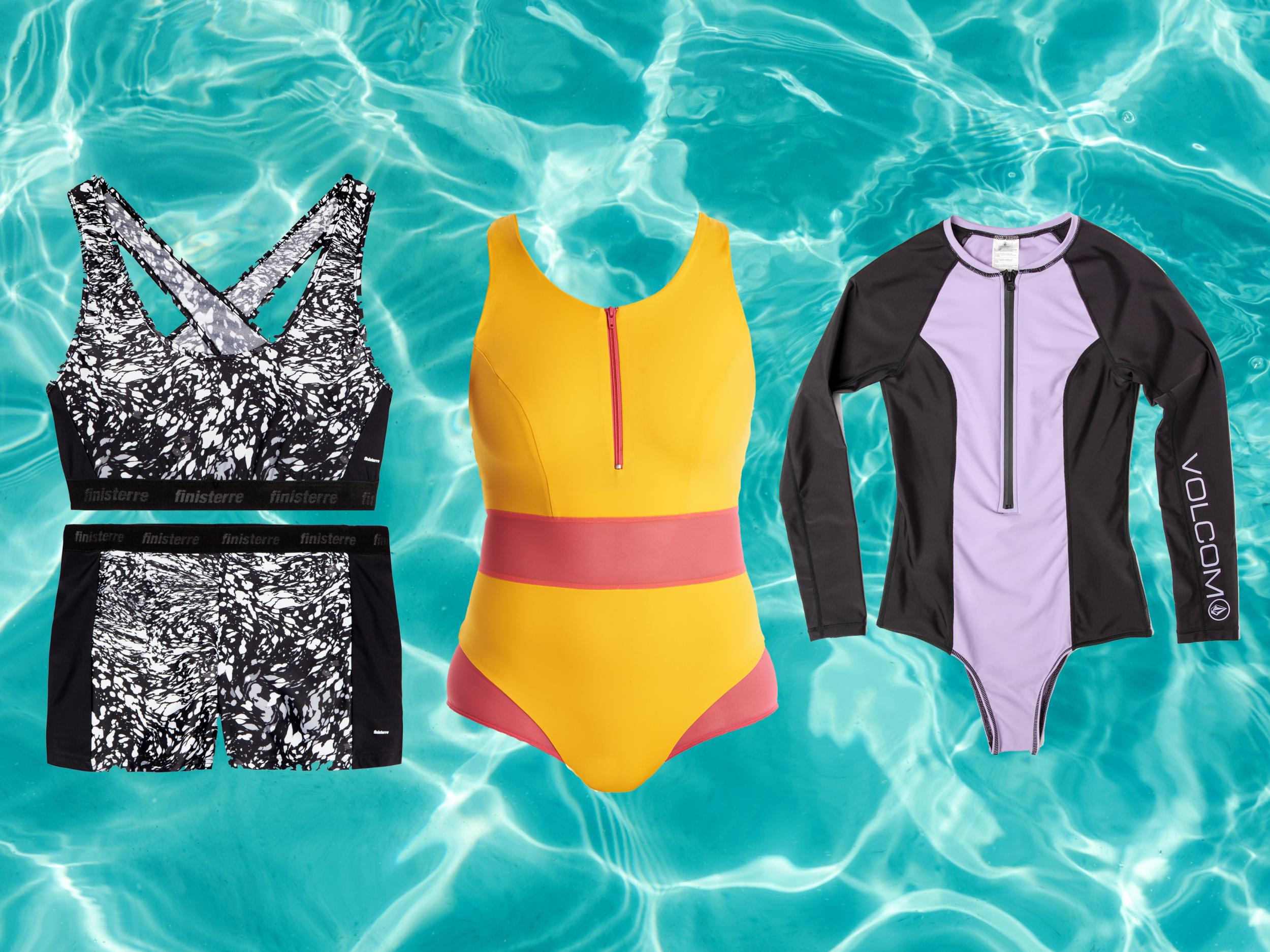 Best Active Swimsuits And Bikinis That Are Supportive For