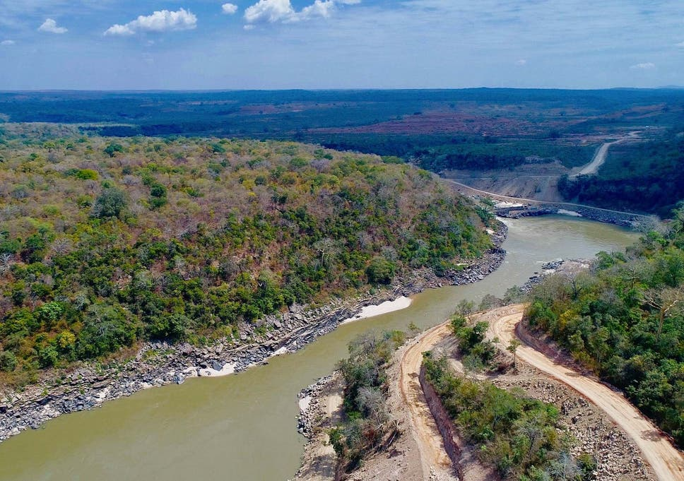 Tanzania inaugurates giant dam in wildlife reserve that will 'boost
