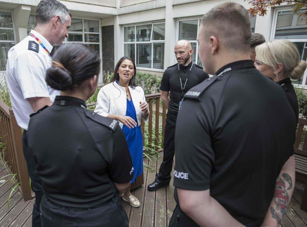 Priti Patel is to address the Police Superintendents' Association conference in major speech