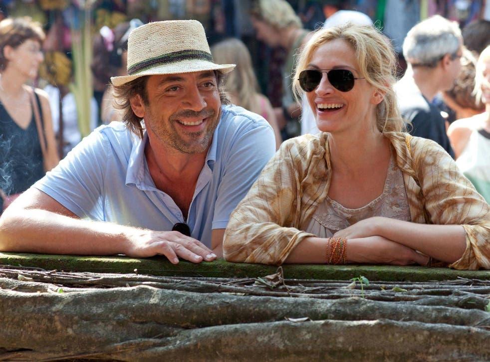 Javier Bardem and Julia Roberts in 'Eat Pray Love'