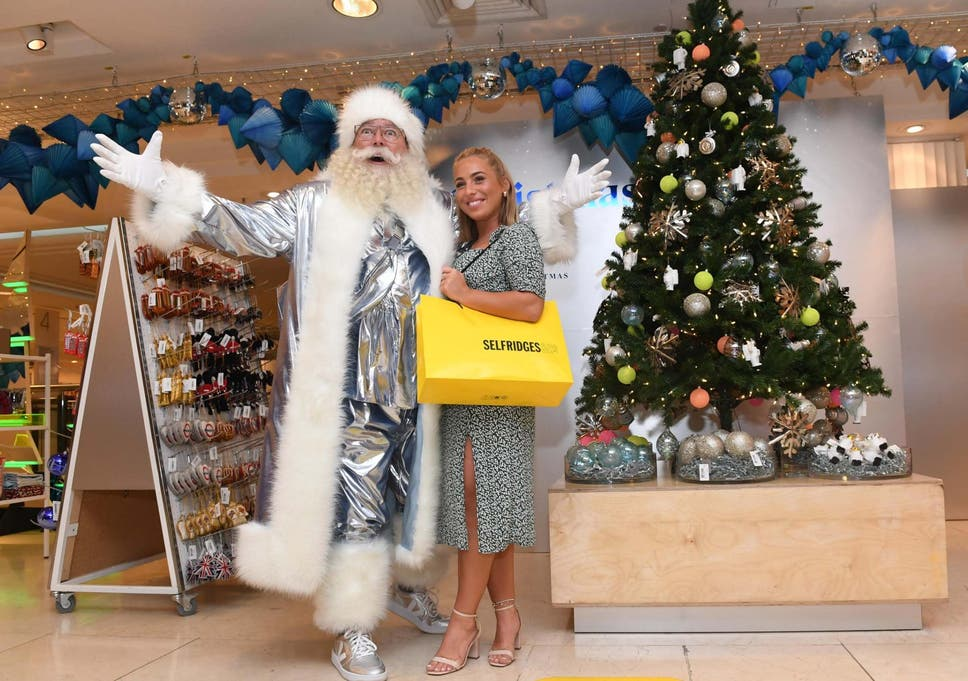 Christmas Point Baxter.Selfridges Opens Christmas Shop Record 149 Days Before Big