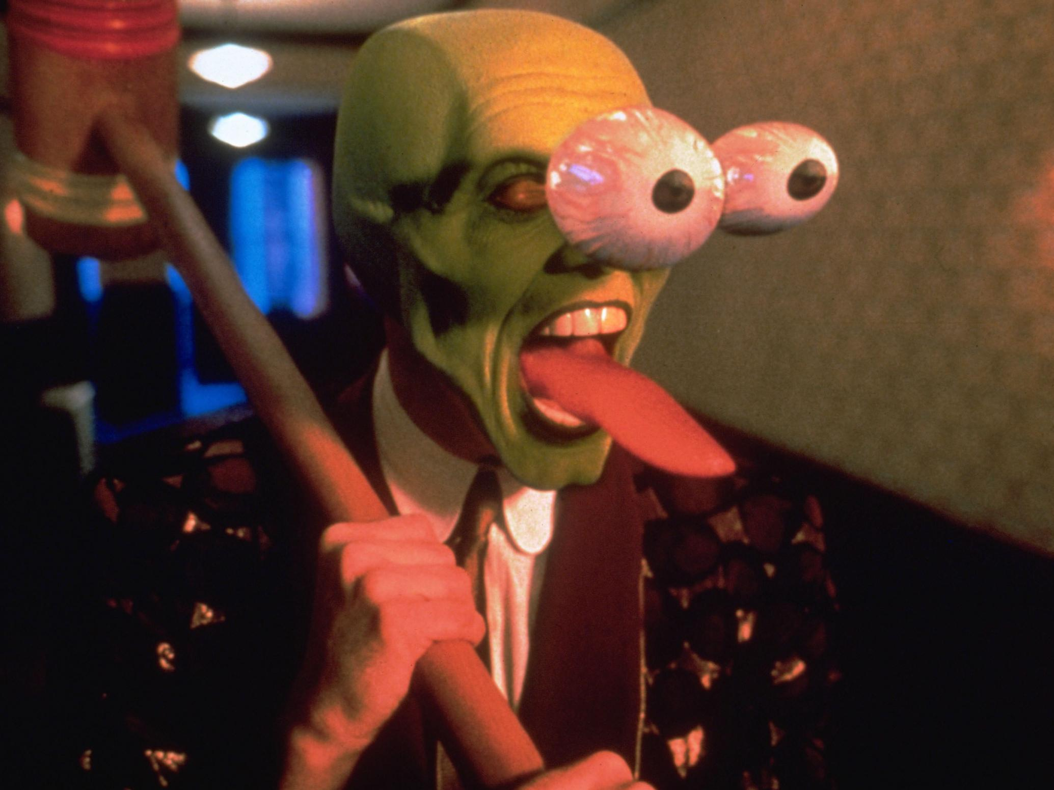 The Mask At 25 How Critics In 1994 Slammed The Film S Astonishingly Lazy Comedy But Praised Jim Carrey S Antic Energy The Independent The Independent