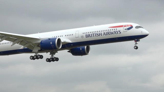 British Airways' new A350