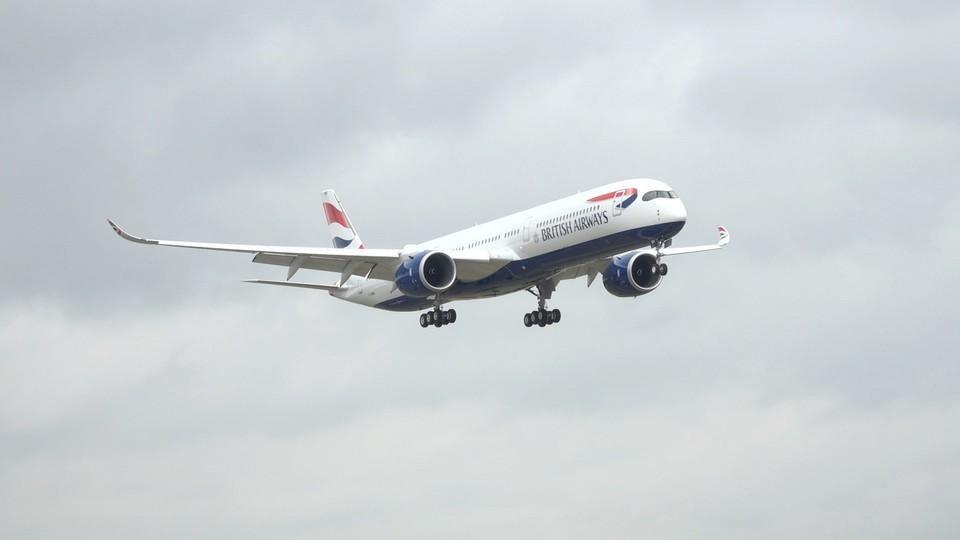 British Airways' new A350