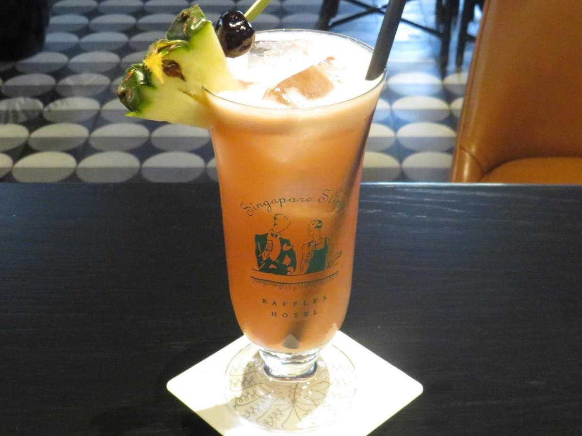 The Story Behind The Singapore Sling The Independent The Independent