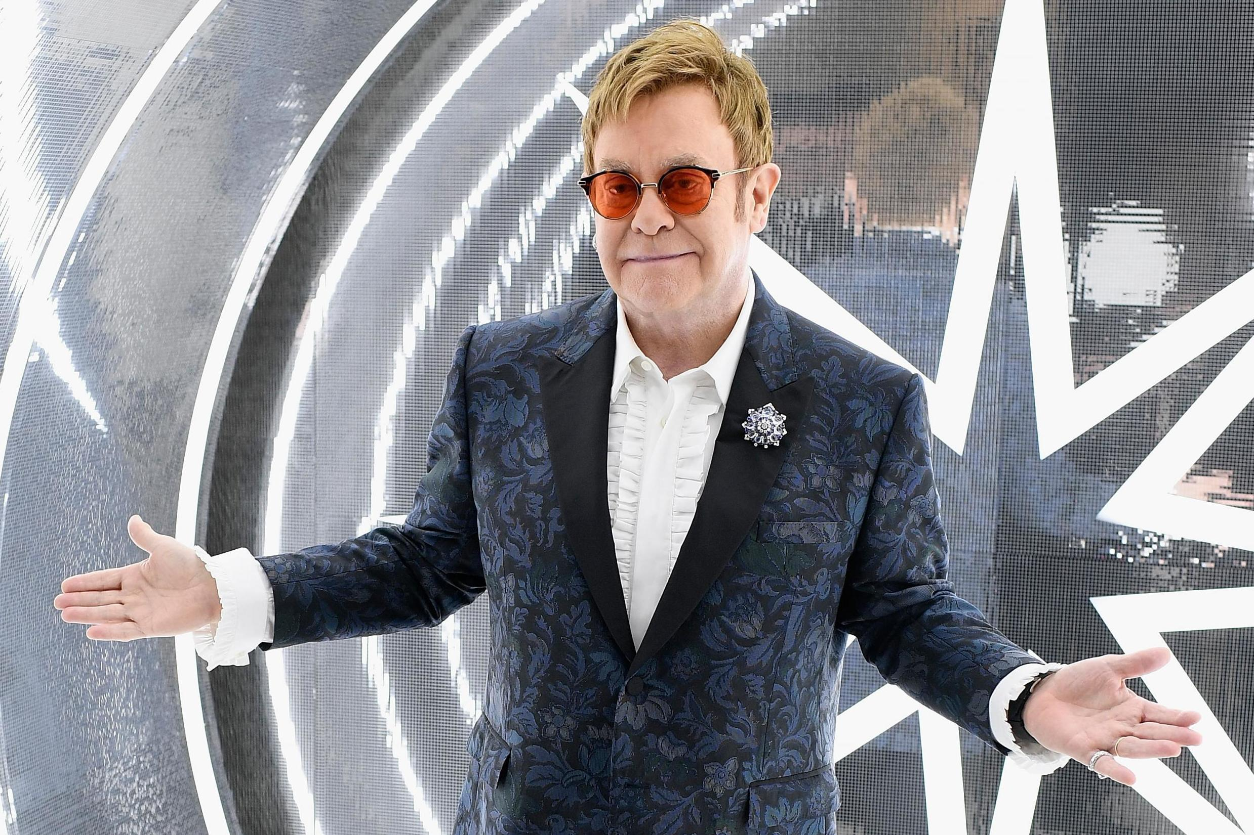 Elton John's unlikely recurring role in Trump's presidency
