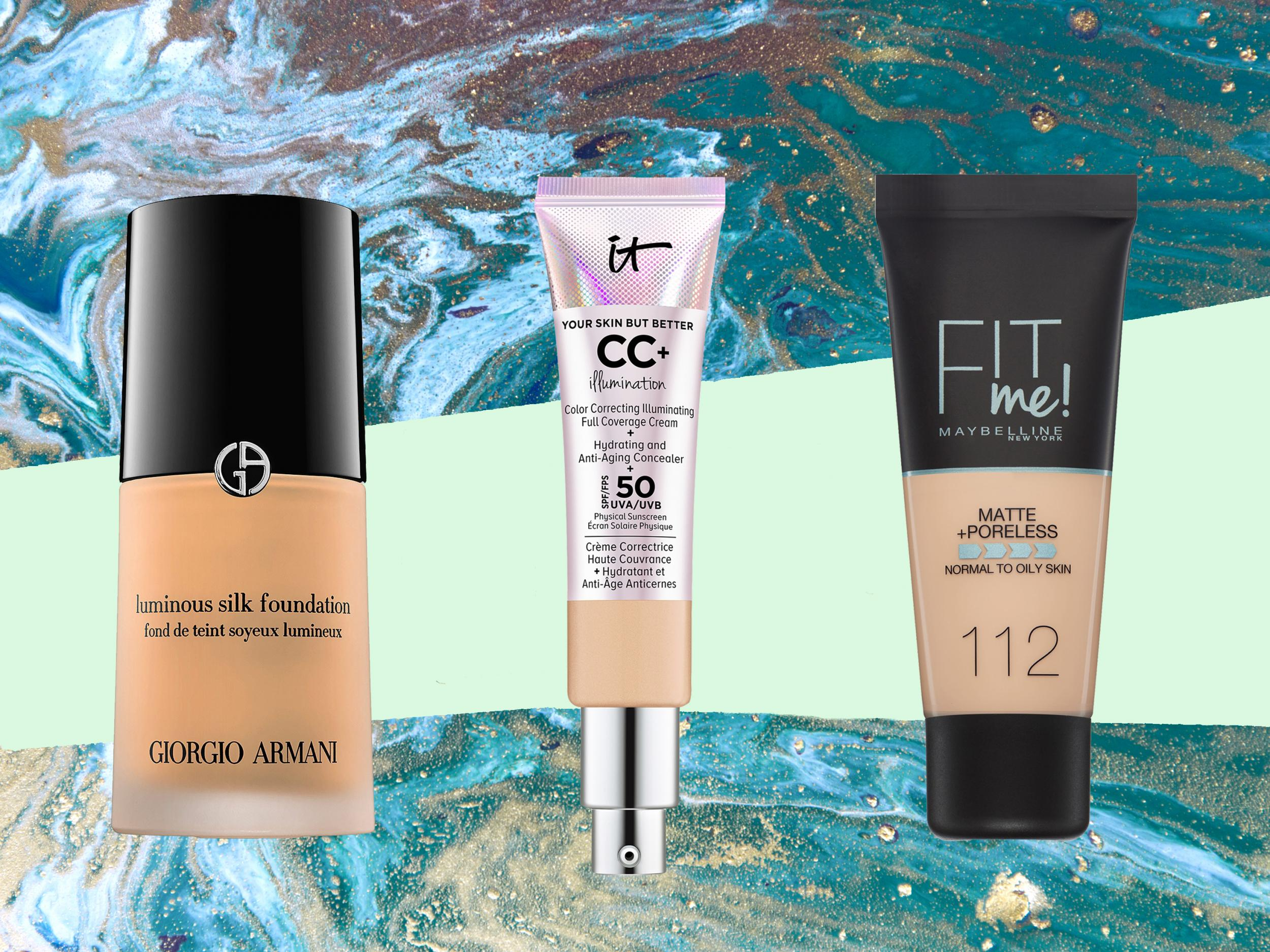 f791c101b8544 Best foundation for mature skin: Liquid and powder forumlas that blur fine  lines, hydrate and brighten