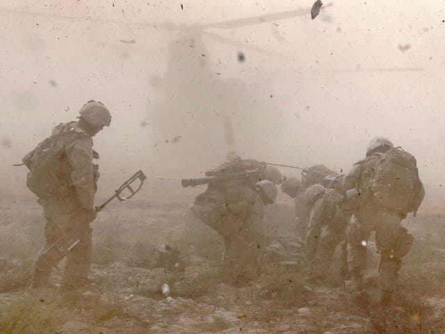 Noa will never forget the horrors he witnessed during his time in Afghanistan