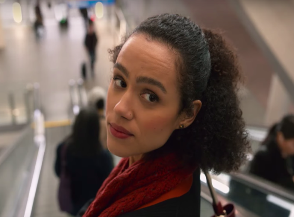 Nathalie Emmanuel as Maya in the Four Weddings and a Funeral TV series