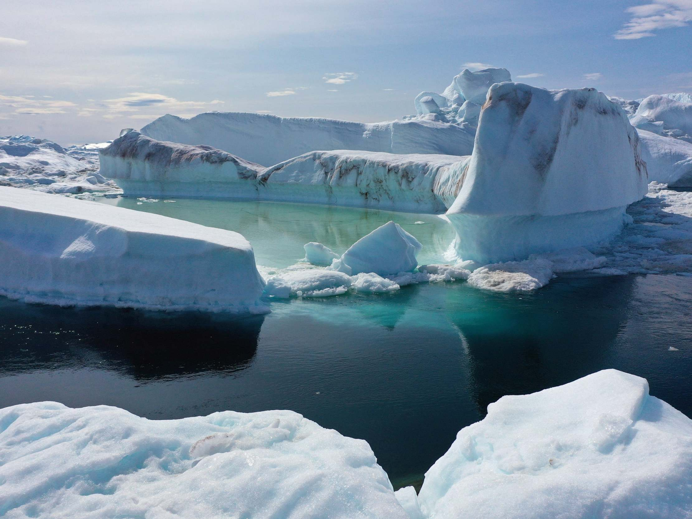 Greenland's ice sheet melting so fast it has caused global sea
