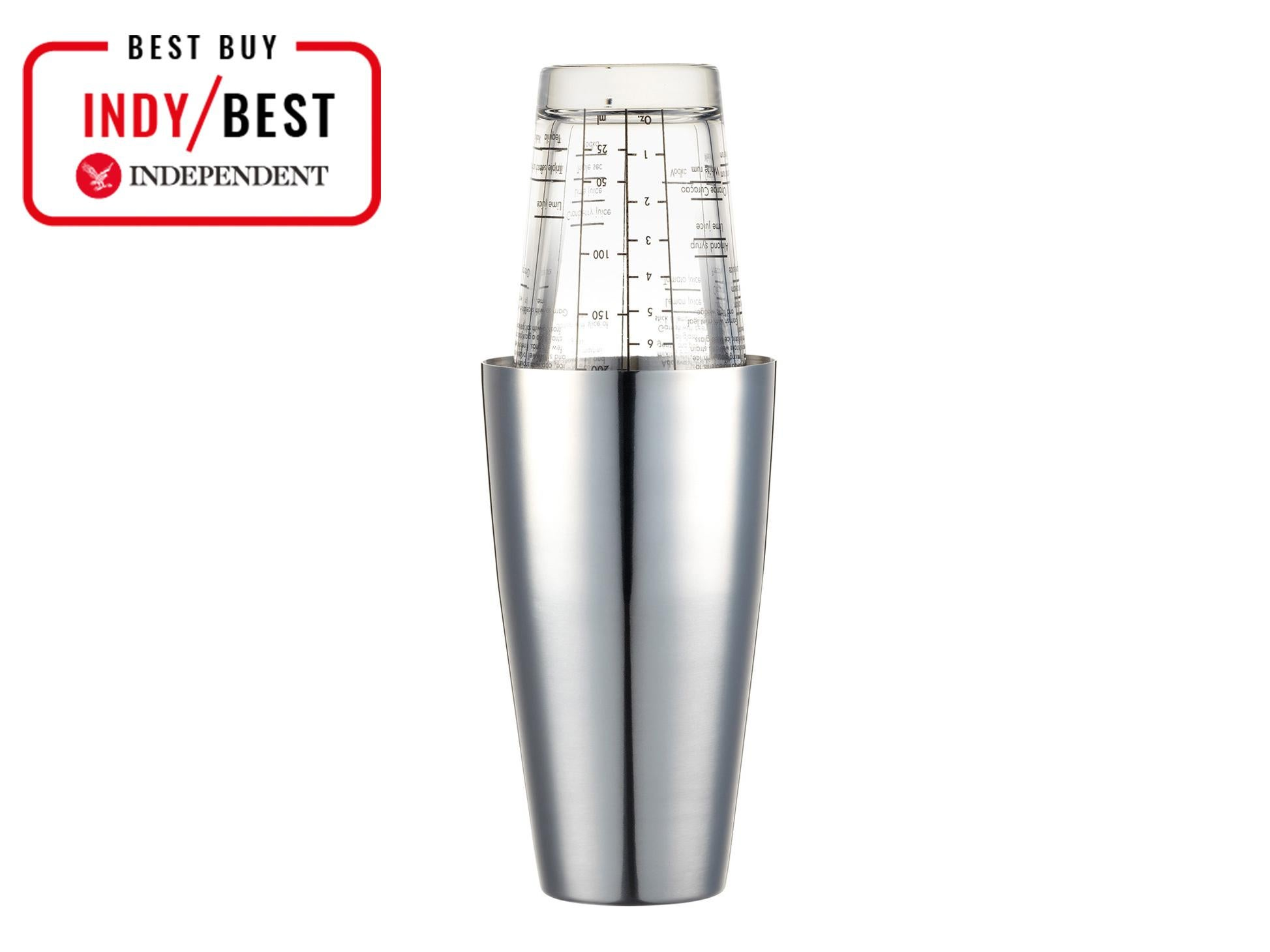 Best cocktail shaker that is affordable, easy to use and stylish