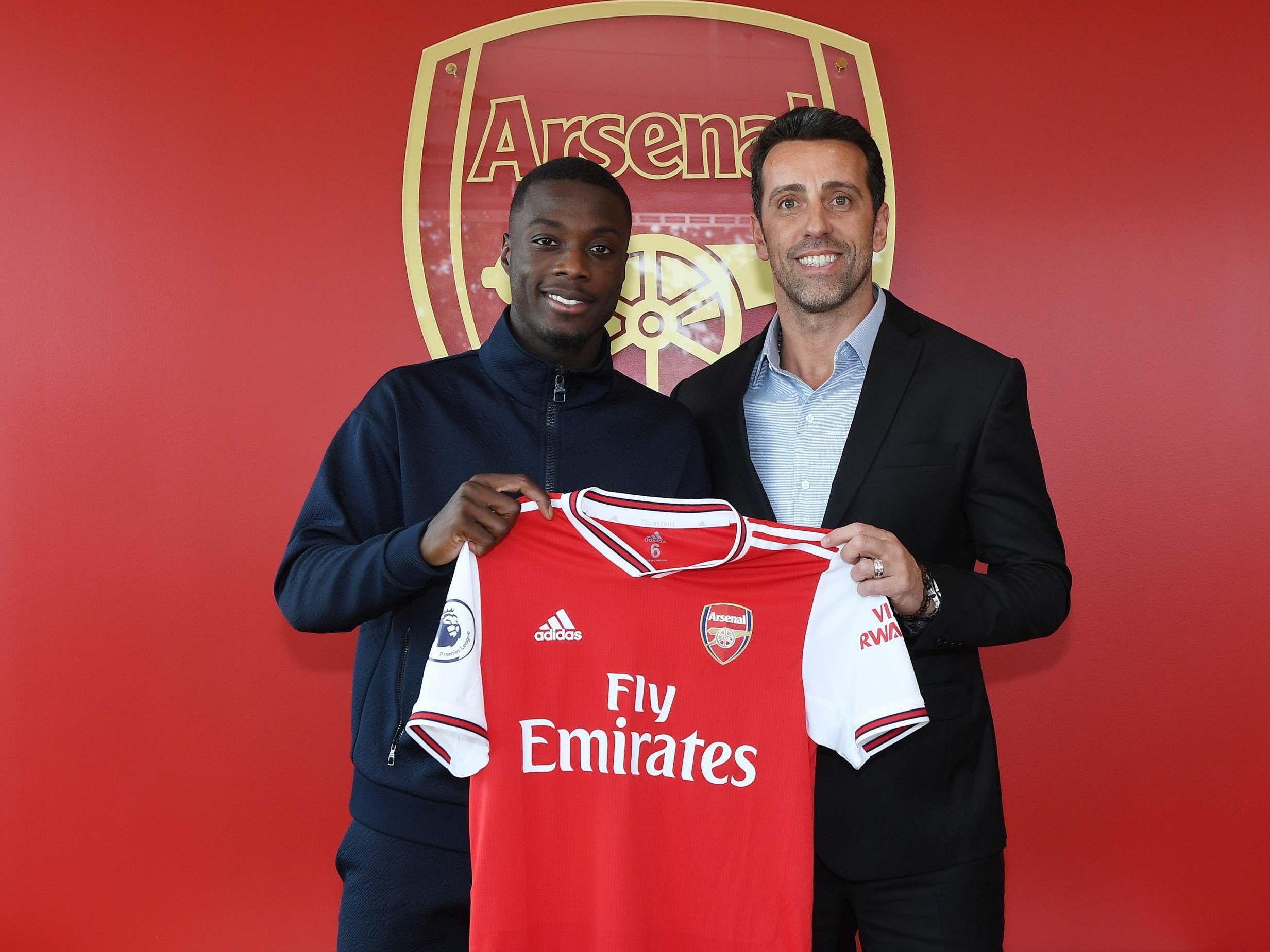 cheap for discount 2640d 33d55 Arsenal transfer news: Nicolas Pepe shirt number revealed ...