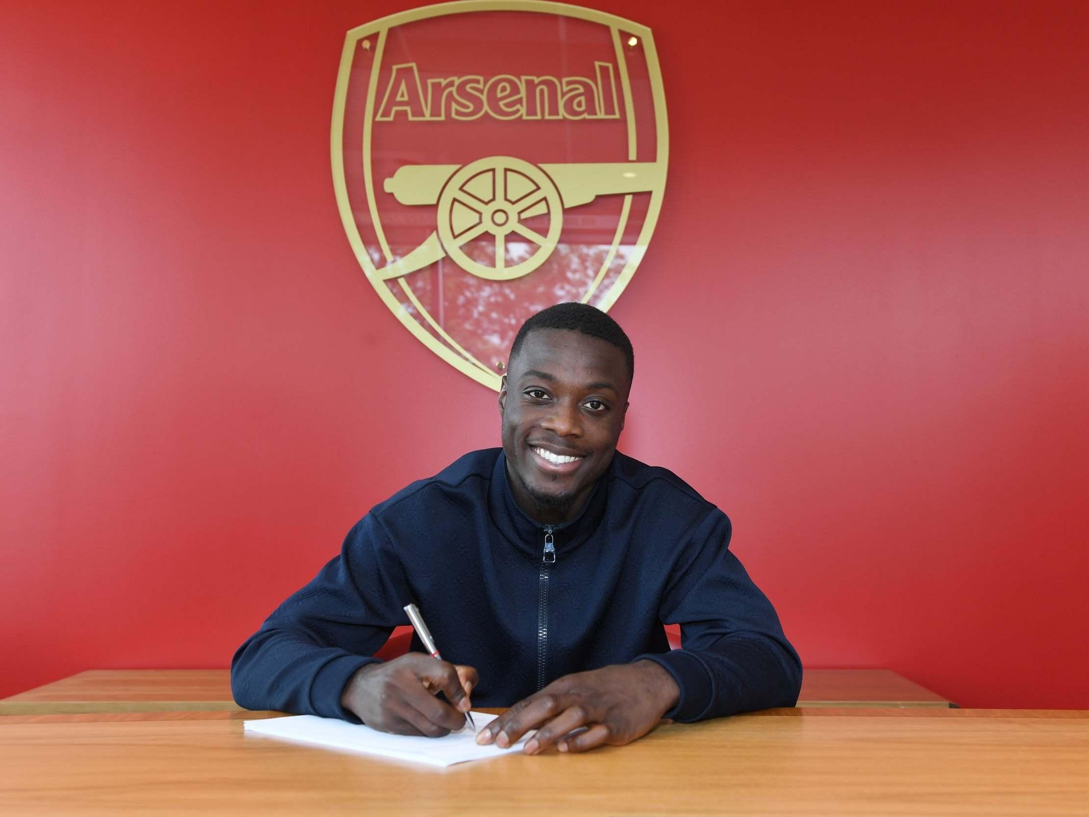 Arsenal transfer news: Nicolas Pepe completes record-breaking £72m ...