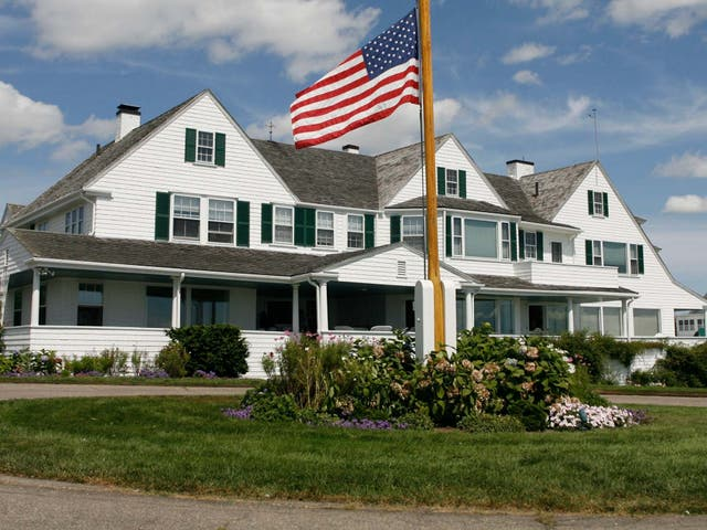 Emergency services were called to the Kennedy family compound where Saoirse Kennedy Hill died of an apparent overdose